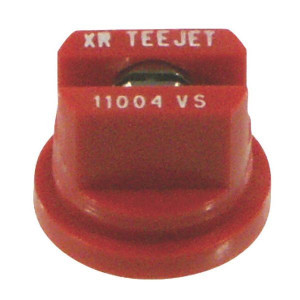 Teejet XR RVS spleetdoppen 110° | Zeer goede slijtvastheid | 1 4 bar | 8 mm