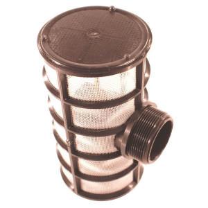 Arag aanzuig T filters met buitendraad