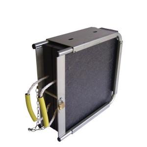 Stempelplaatbox dubbel met platen | UV-bestendig, Lichtgewicht