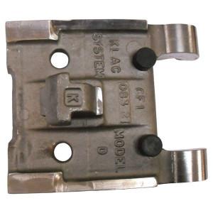 Aanlas adapterplaat voor Klac snelwissel | Origineel Klac | Nabewerkte pasvlakken