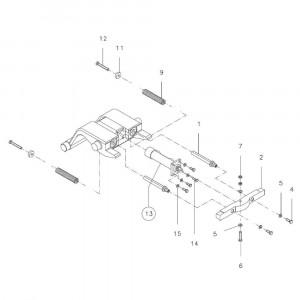 Onderdelen passend voor CW1 / CW10 hydraulisch