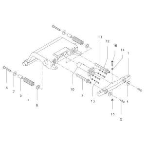 Onderdelen passend voor CW2/3/4 - CW20/30/40 hydraulisch