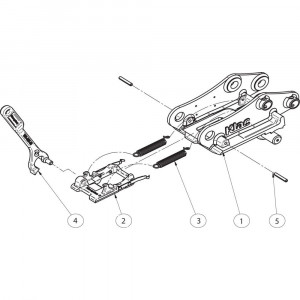Onderdelen passend voor Klac D mechanisch