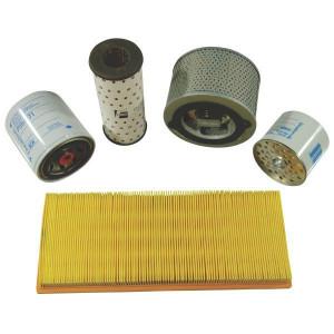 Filters passend voor Caterpillar 416 B motor Cat. 3054 SN. 8ZK1-5999