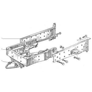 Voorste chassis frame passend voor Belarus MTS 50
