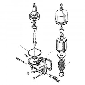 Oliefilter passend voor Belarus MTS 570/572
