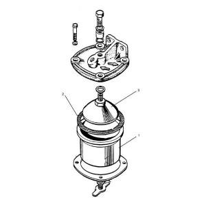 Brandstoffilter (grof) passend voor Belarus MTS 570/572