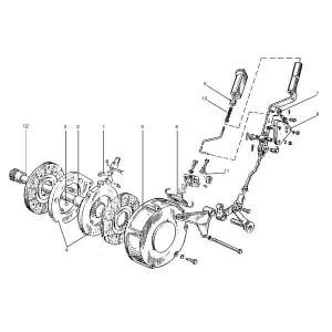 Handremdelen passend voor Belarus MTS 570/572