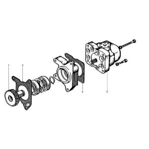 Hydrauliekpomp passend voor Belarus MTS 570/572