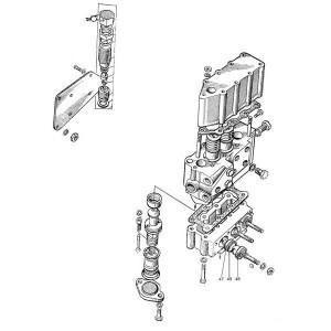 Stuurventiel hydrauliek passend voor Belarus MTS 570/572