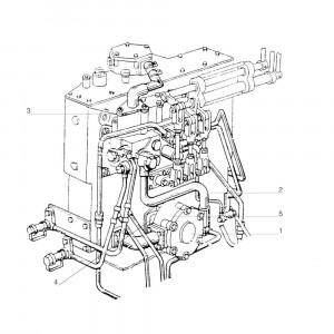 Hydrauliekunit passend voor Belarus MTS 800/820