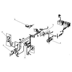 Electrodelen passend voor Belarus MTS 890/892