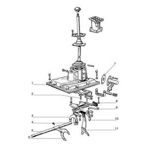 Versnellingspook deksel passend voor Belarus MTS 900/920