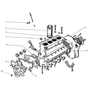 Motordelen passend voor Belarus MTS 950/952