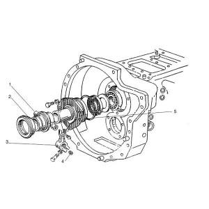 Koppelingsbediening passend voor Belarus MTS 950/952