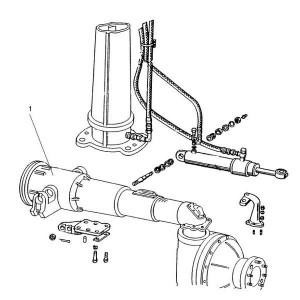 Voorasdelen passend voor Belarus MTS 950/952
