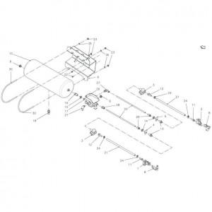 013 Pneumatisch blok passend voor DEUTZ-FAHR BIGMASTER 578