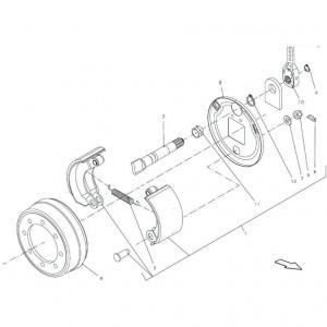 016 Remmodule, tandem passend voor DEUTZ-FAHR BIGMASTER 578