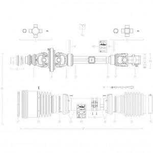 024 Transmissie 4800811 passend voor DEUTZ-FAHR BIGMASTER 578