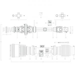 025 Transmissie 4800812 passend voor DEUTZ-FAHR BIGMASTER 578