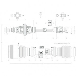 026 Transmissie 4800813 passend voor DEUTZ-FAHR BIGMASTER 578