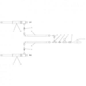 040 Hydraulische 0C23 opraper passend voor DEUTZ-FAHR BIGMASTER 578