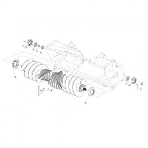 041 Rotor 0C15 passend voor DEUTZ-FAHR BIGMASTER 578