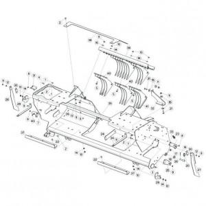 042 Frame rotor passend voor DEUTZ-FAHR BIGMASTER 578