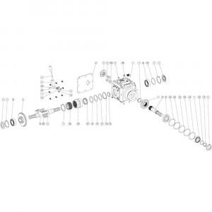 04 Tandwielkast passend voor DEUTZ-FAHR BIGMASTER 578 FRONT