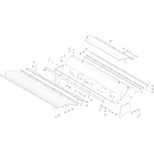 08 Beschermingen 120 cm balenpers passend voor DEUTZ-FAHR BIGMASTER 578 FRONT