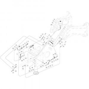 09 Hydrauliek passend voor DEUTZ-FAHR BIGMASTER 578 FRONT