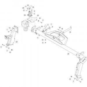 13 Aandrijving passend voor DEUTZ-FAHR CompacMaster