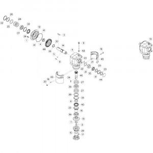 15 Eindrol passend voor DEUTZ-FAHR CompacMaster