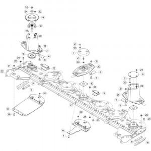 19 Behuizing passend voor DEUTZ-FAHR CompacMaster