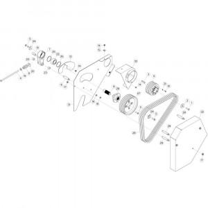 22 Vloer 23-Oc opvang passend voor DEUTZ-FAHR CompacMaster