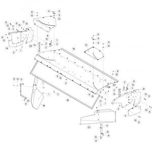 25 Aandrijfas opraper passend voor DEUTZ-FAHR CompacMaster