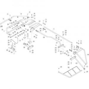 30 Zwadborden passend voor DEUTZ-FAHR CompacMaster