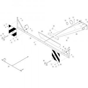 33 Opraper 2,30M passend voor DEUTZ-FAHR CompacMaster