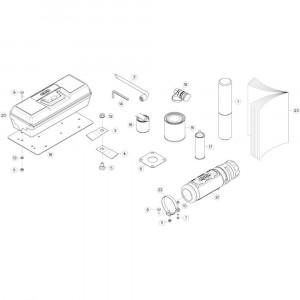 35 Netwikkelset passend voor DEUTZ-FAHR CompacMaster