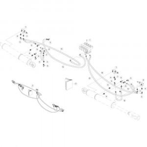 41 Hydraulische hefinrichting passend voor DEUTZ-FAHR CompacMaster