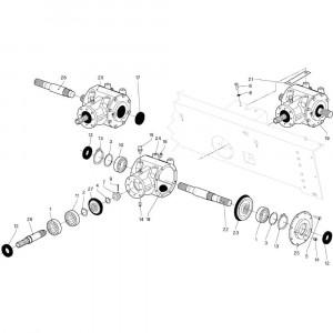 01 Aandrijving passend voor DEUTZ-FAHR RB4.60 BalePack