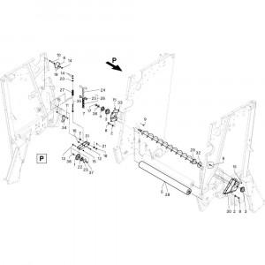 06 Vijzelrol passend voor DEUTZ-FAHR RB4.60 BalePack
