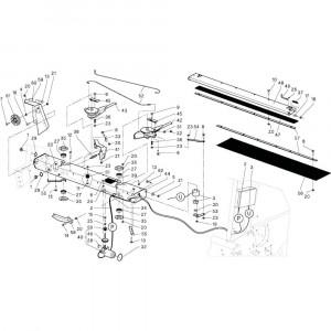 18 Touwbindsysteem passend voor DEUTZ-FAHR RB4.60 BalePack