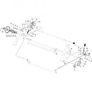 22 Remmen passend voor DEUTZ-FAHR RB4.60 BalePack