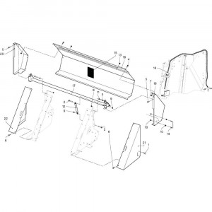 23 Beschermingen passend voor DEUTZ-FAHR RB4.60 BalePack