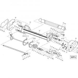 25 Opraper Wpu passend voor DEUTZ-FAHR RB4.60 BalePack