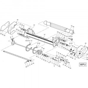 26 Opraper Wpu passend voor DEUTZ-FAHR RB4.60 BalePack