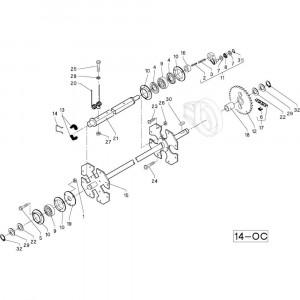 35 Opraper R+0C passend voor DEUTZ-FAHR RB4.60 BalePack
