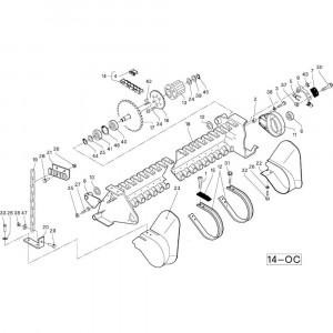 36 Frame passend voor DEUTZ-FAHR RB4.60 BalePack