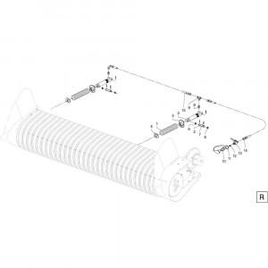 40 Cilinder opraper passend voor DEUTZ-FAHR RB4.60 BalePack